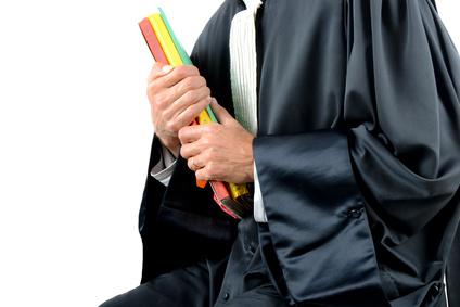 Justice - Buste d'avocat assis
